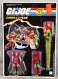 L501 VINTAGE RARE 1987 GI JOE COBRA-LA TEAM MOC 3 ACTION FIGURES