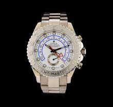Rolex 18KT White Gold Yacht-Master Men's Watch