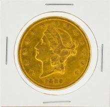 1899-S $20 XF Liberty Head Double Eagle Gold Coin