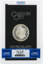 1878-CC NGC MS63 Morgan Silver Dollar