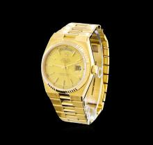 Rolex 18KT Yellow Gold Day-Date Men's Watch