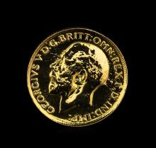 1927 Great Britain Sovereign Gold Coin