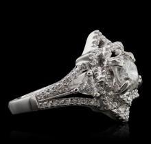 18KT White Gold 1.62 ctw Diamond Ring