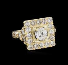 2.83 ctw Diamond Ring - 14KT Yellow Gold