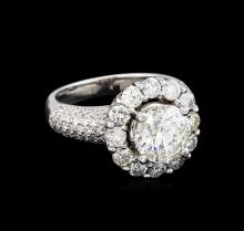 14KT White Gold 4.62 ctw Diamond Ring