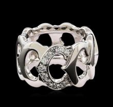 Cartier 0.28 ctw Diamond Ring - 18KT White Gold