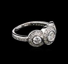 1.00 ctw Diamond Ring - 14KT White Gold