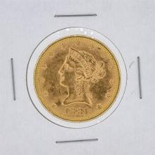 1881 $10 BU Liberty Head Eagle Gold Coin