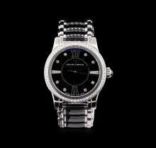 David Yurman Stainless Steel 1.04 ctw Diamond Classic Watch
