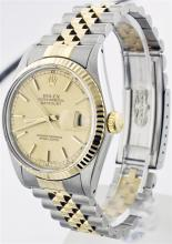 Rolex Two-Tone DateJust Men's Watch