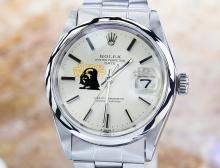 Rolex 1500 Stainless Steel Automatic Watch