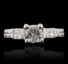 Platinum 1.33ctw Diamond Ring