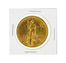 1922 $20 AU St. Gaudens Double Eagle Gold Coin