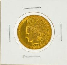 1911 $10 AU Indian Head Eagle Gold Coin