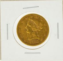 1881-S $10 VF Liberty Head Eagle Gold Coin