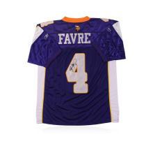 Minnesota Vikings Brett Favre Autographed Jersey