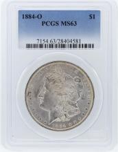 1884-O PCGS MS63 Morgan Silver Dollar