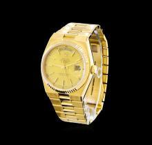 Rolex 18KT Yellow Gold Day-Date Men's Watch