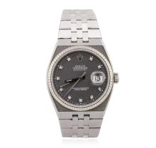 Rolex Stainless Steel OysterQuartz DateJust Men's Watch