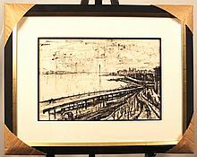 Original Ink on Paper by Francis De Erdely (1904-1959)