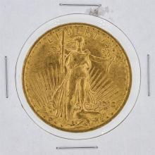 1915 $20 AU St. Gaudens Double Eagle Gold Coin