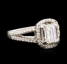 18KT White Gold 1.37 ctw Diamond Ring