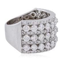 14KT White Gold 2.59 ctw Diamond Ring