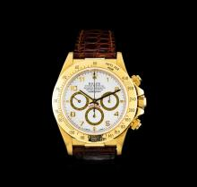 Rolex 18KT Yellow Gold Daytona Men's Watch