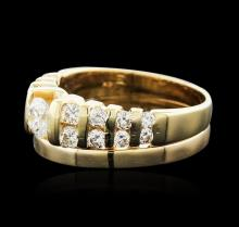 14KT Yellow Gold 1.02 ctw Diamond Ring