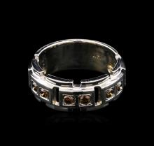 0.51ctw Fancy Brown Diamond Ring - 14KT White Gold