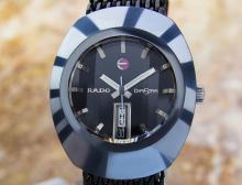 Rado Diastar Day Date Stainless Steel Automatic Watch