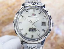 Orient Weekly Stainless Steel Manual Watch
