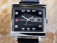 Rado Manhattan Date Stainless Steel Automatic Watch