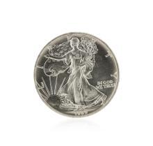 1989 American Silver Eagle Dollar BU Coin