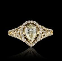 14KT Yellow Gold 1.78ctw Diamond Unity Ring