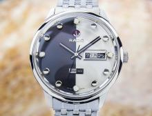 Rado Daymaster Daydate Stainless Steel Automatic Watch