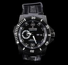 Corum Black PVD Titanium Admirals Cup Deep Hull Watch