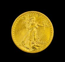 1907 $20 St. Gaudens Double Eagle Gold Coin