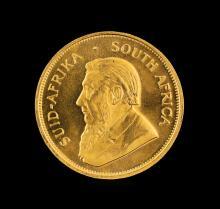 1982 South Africa 1oz Krugerrand Gold Coin