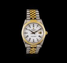 Rolex 18KT Two-Tone DateJust Watch