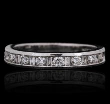 14KT White Gold 0.39 ctw Diamond Ring