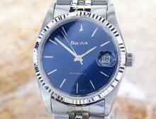 Bulova Super Seville Stainless Steel Automatic Watch