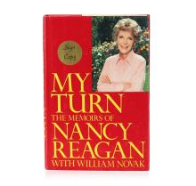 Signed Copy of My Turn: The Memoirs of Nancy Reagan by Nancy Reagan