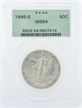 1929-S PCGS Graded MS64 Walking Liberty Half Dollar Silver Coin
