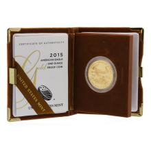 2015 American Eagle 1 Ounce Gold Proof Coin