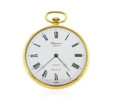 Chopard and Tiffany & Co. 18KT Yellow Gold Open Face Pocket Watch