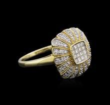 14KT Yellow Gold 0.48 ctw Diamond Ring
