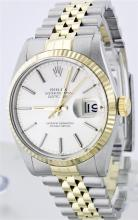 Rolex Two Tone DateJust Men's Watch