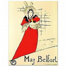 May Belfort by Henri de Toulouse-Lautrec (1864-1901)