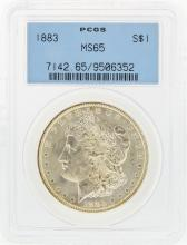 1883 PCGS MS65 Morgan Silver Dollar